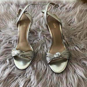 Silver Aldo Shoes